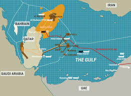 Map Of Persian Gulf Oil On The Persian Gulf Mapsroom Mapsroom