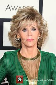 bing hairstyles for women over 60 jane fonda with shag haircut the 57th annual grammy awards 57th annual grammy awards hair