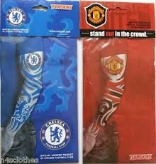official tattoo manchester united chelsea sleeve slip on arm