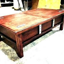 coffee table with hidden gun storage plans table with hidden storage coffee gun plans northmallow co
