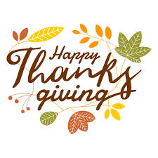 happy thanksgiving logo transparent png svg vector