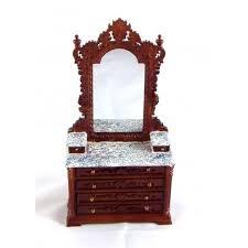 seconds dolls house fine miniature bedroom furniture ri mauldie
