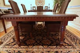 Custom Dining Room Tables Furniture U2014 Reinhart Furniture Inc