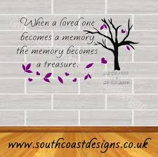 when a loved one becomes a memory dates choice of colour