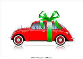 car ribbon car present ribbon stock photos car present ribbon stock images