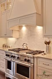 Backsplash Ideas For White Kitchens Viking Range And Marble Backsplash Beautiful Home Pinterest