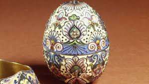 Decorating Easter Eggs Video by The Faberge Eggs Video Russian Revolution History Com