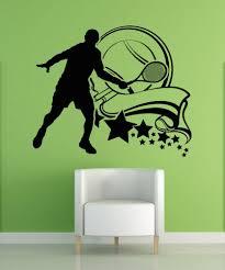 vinyl wall decal sticker tennis design 5114