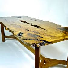 Slab Table Etsy by Mesquite And White Oak Tree Slab Table White Oak Tree White Oak