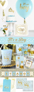 blue and gold baby shower decorations boy baby shower gift boy new baby boy gift its a boy gift