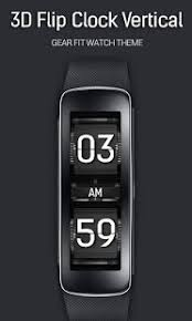 gear fit apk app 3d flip v clock for gear fit apk for windows phone android