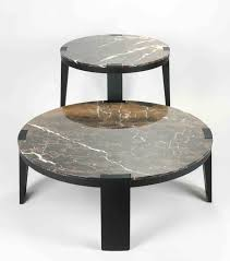 coffee table awesome travertine and metal coffee table folding