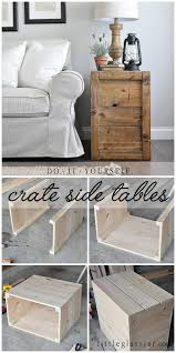 Diy Side Table 40 Awesome Diy Side Table Ideas For Outdoors And Indoors Hative
