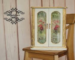 Shabby Chic Jewelry Armoire by Jewelry Drawers Etsy