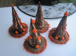magical halloween witch hats how to make halloween treats