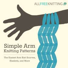 simple arm knitting patterns the easiest arm knit scarves