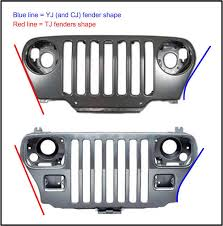 jeep cj grill logo yj grille on tj jeep wrangler forum