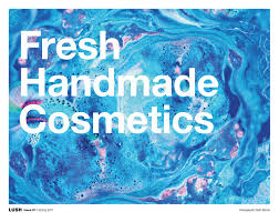fresh handmade cosmetics issue 01 spring 2017 usa by lush