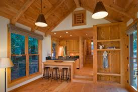 small house with loft this rustic guest cabin features extensive custom interior