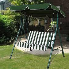 hammock bench garden patio metal swing chair seat 2 seater hammock bench