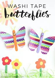 what is washi tape washi tape butterflies craft somewhat simple