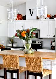 decorating first home fall kitchen decorating first home love life