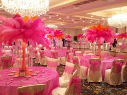 the nubian bride how to make an ostrich feather centerpiece