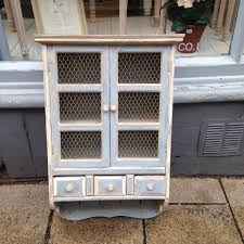 shabby chic wall cupboard the consortium vintage furniture
