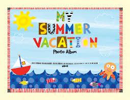 vacation photo album printable summer vacation photo album alexbrands