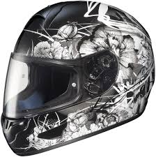 ladies motorcycle helmet 62 41 hjc cl 16 virgo full face helmet 142415