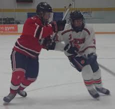ridgefield tops new canaan in powerhouse hockey showdown newstimes