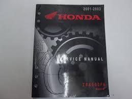 2001 02 2003 honda trx500fa rubicon service repair manual minor