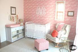 Unique Nursery Decor Decoration Pink Nursery Room Ideas