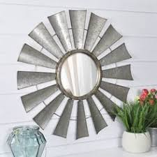 red shed wagon wheel mirror 19 99 home decor pinterest