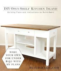 Build Island Kitchen How Do You Build A Kitchen Island Meetmargo Co