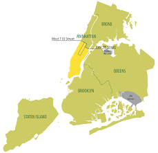 New York City Area Map by Nyc Taxi U0026 Limousine Commission Boro Taxis