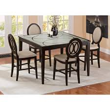 Walmart Round Kitchen Table Sets by Dining Tables 5 Piece Counter Height Dining Set White 5 Piece