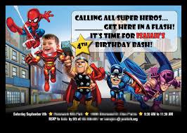 avengers invites remember the armadillo superhero birthday party