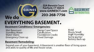 basement authorities fairfield county ct