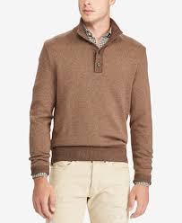 macy s ralph sweaters polo ralph s tussah silk mock neck sweater sweaters