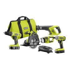 black friday home depot power tools ryobi 18 volt one lithium ion cordless super combo kit 4 piece