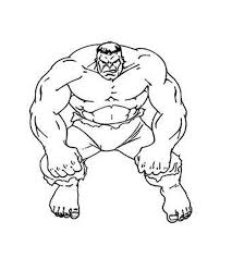 incredible hulk coloring kids coloring
