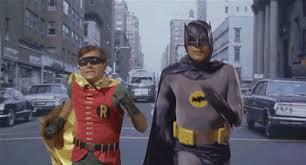 Memes De Batman Y Robin - meme de batman y robin de los 60 huyendo de cosas aleatorias
