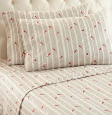 bed sheet quality cardinal bird patterned micro flannel sheets micro flannel bedding
