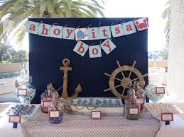 nautical themed candy table by oc sugar mama nautical candy