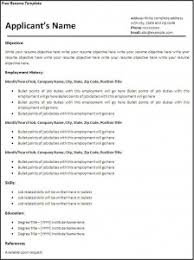 Free Resume Samples To Print by Resume Examples Free Resume Printable Template For High