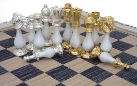 amazon chess set the san severeo gold and silver chess set amazon co uk toys