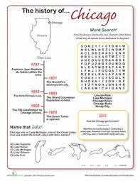 history of chicago worksheet education com