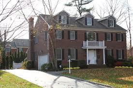 brick colonial house dream home pinterest house plans 14976