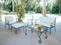 patio ideas white steel patio table luxurious iron patio furniture